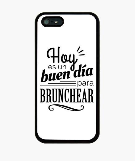 Funda iPhone Hoy es un buen día para brunchear BW