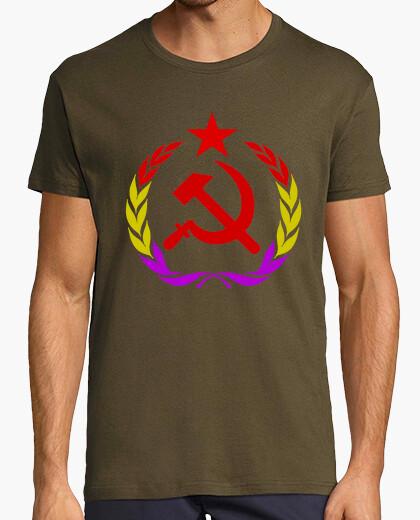 Camiseta Hoz Martillo Estrella Laurel República