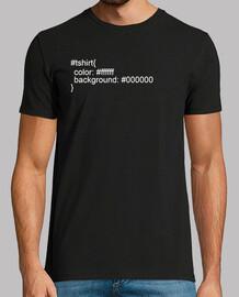 html css t- shirt