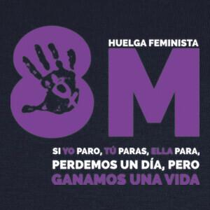 Camisetas Huelga feminista 8M