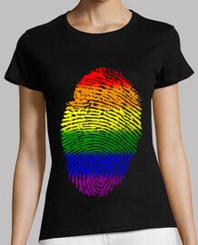 Huella Bandera Orgullo / Bandera LGBTI
