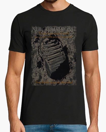 Camiseta HUELLA NEIL ARMSTRONG