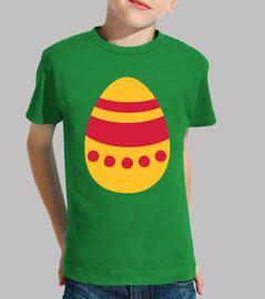 huevo de pascua de color