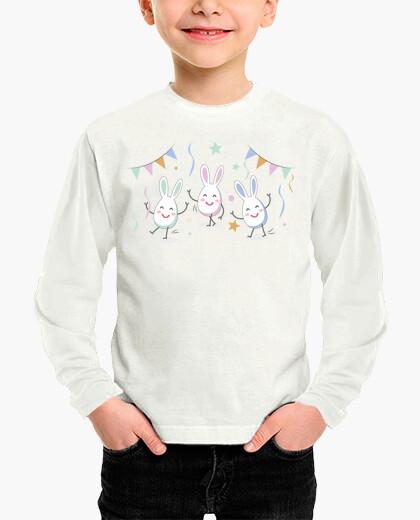 Ropa infantil Huevos de pascua, camiseta niño y niña