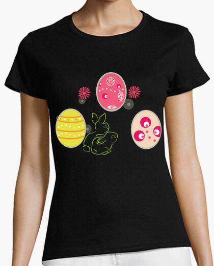Camiseta Huevos y Conejos de Pascua
