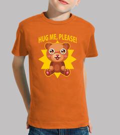 hug teddy t-shirt child