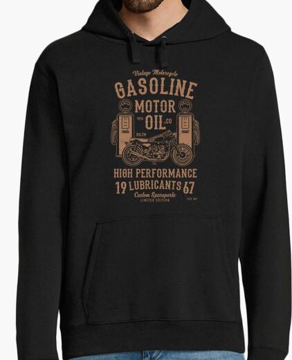 Sweat huile à moteur à essence