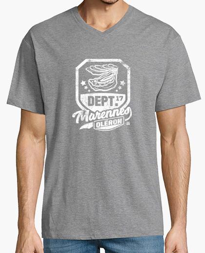 Tee-shirt Huîtres de Marennes Oléron