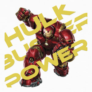 Camisetas Hulkbuster Power