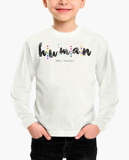 Vêtements enfant humain (noir)