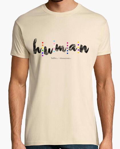 Human (black) t-shirt