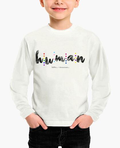 Ropa infantil Human (negro)