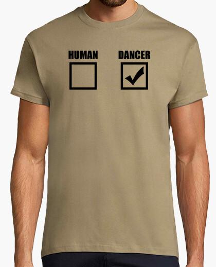 Human or dancer? (boy) t-shirt