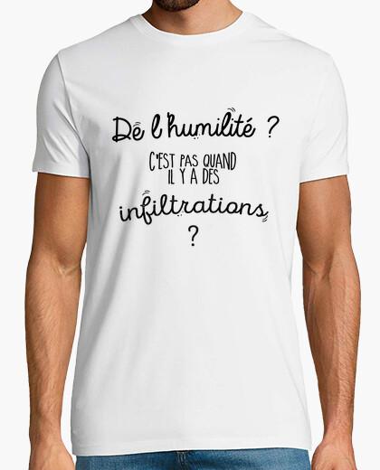Camiseta humedad