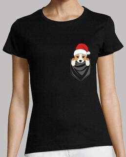 Hund Corgi hosentasche Grafik Weihnacht