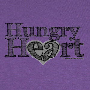 Tee-shirts HUNGRY HEART black