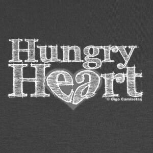 Camisetas HUNGRY HEART white