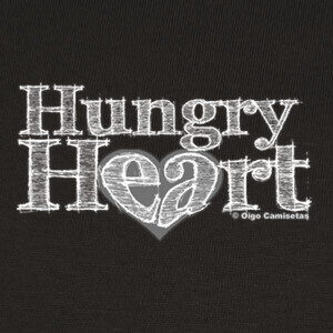Tee-shirts HUNGRY HEART white