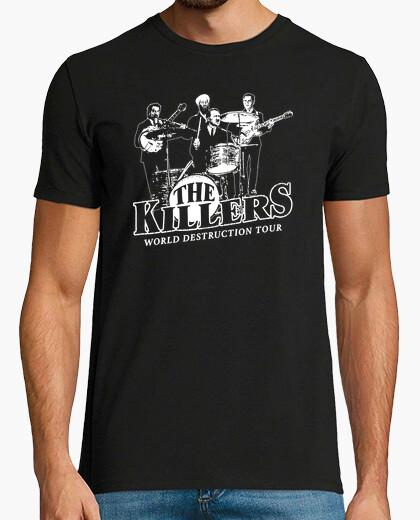 Camiseta Husein, Bin Laden, Hitler y Bush - The Killers - World Destruction Tour