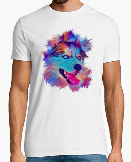 Tee-shirt huskey