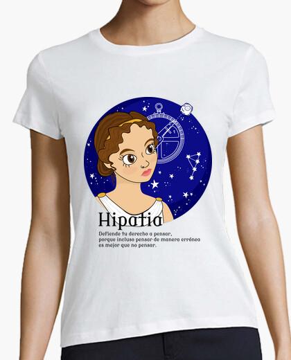 Tee-shirt hypatie avec phrase