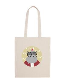 hyppo navidad - ho ho ho! bolsa de algodón