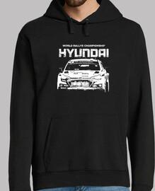 HYUNDAI WRC letras rasgadas