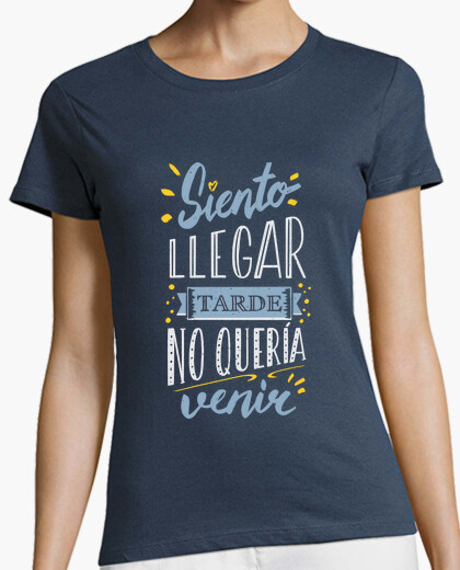 I39m sorry to be late t-shirt