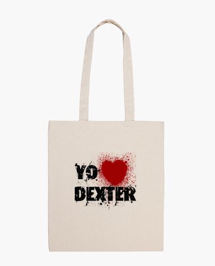 I <3 dexter bag