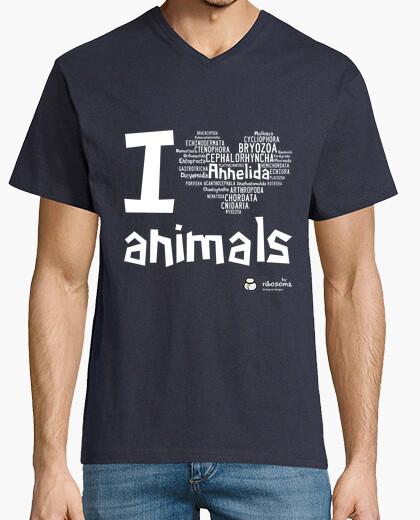 Camiseta I ❤ animals