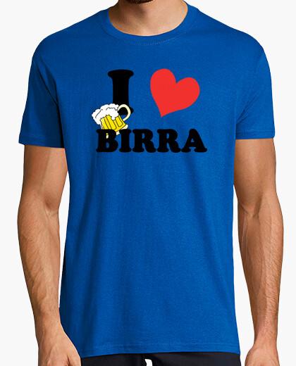 Camiseta I ♥ birra