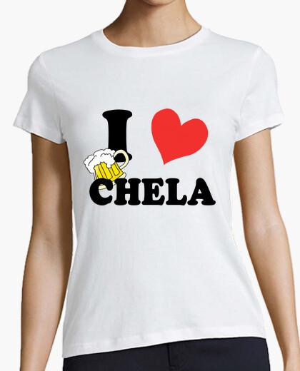 Tee-shirt i ♥ chela