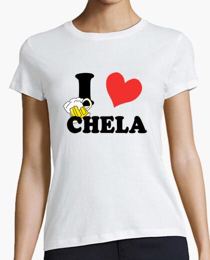 Camiseta I ♥ chela