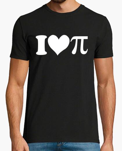 Camiseta I ♥ pi
