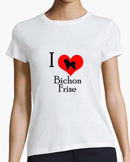 Tee-shirt i aime bichon