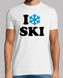 i aime la neige ski