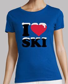 i aime le ski ski