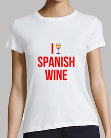 i aime le vin espagnol -  femme