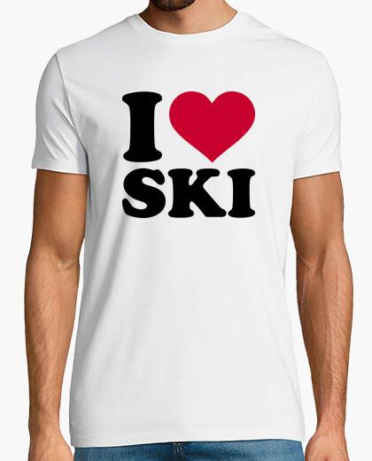 Tee-shirt i aime ski