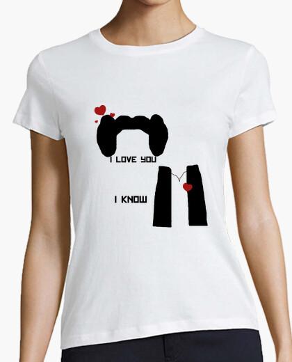 Tee-shirt i aime you.i savent.