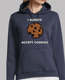 I always accept cookies. Jersei dona.