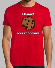 I always accept cookies. Samarreta home.