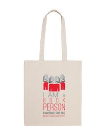 I am a Book Person bag