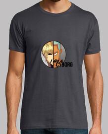 I am a Cyborg, camiseta One Piece One Punch Man