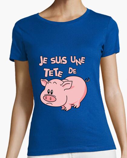 I am a head of  t-shirt
