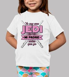 i am a jedi - pink