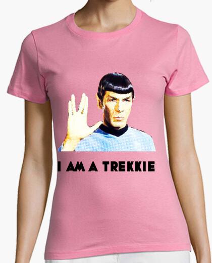 Camiseta I am a Trekkie Star Trek II