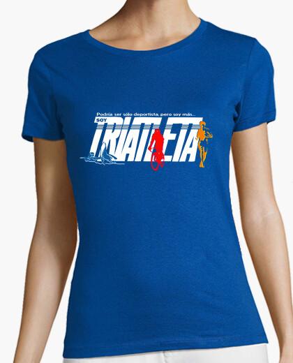 I am a triathlete t-shirt