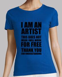 I am an Artist Black