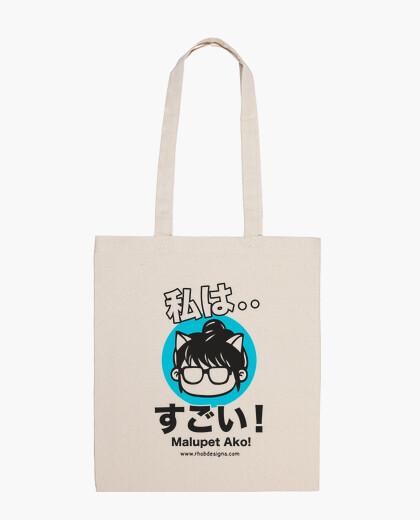 I Am Awesome (White) bag